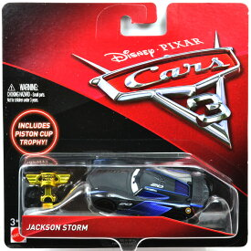 "MATTEL Disney-PIXAR ""CARS3""JACKSON STORM / PISTON CUP TROPHY マテル ディズニー/ピクサー 「カーズ」カーズ3 ジャクソン・ストーム / ピストンカップトロフィー"