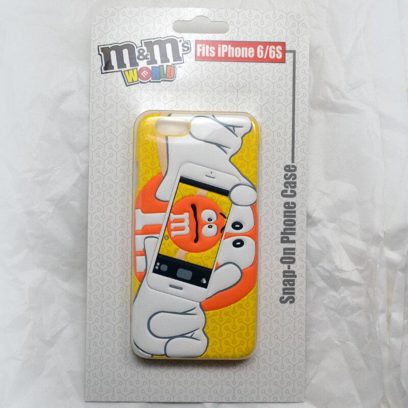 m&m's WORLD Phone 6/6S CASE ☆iPhoneケース ORANGE オレンジ ライセンス品