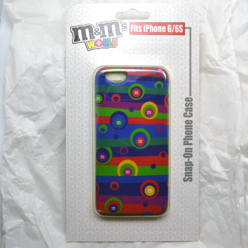 m&m's WORLD Phone 6/6S CASE ☆iPhoneケース サイケデリック ライセンス品