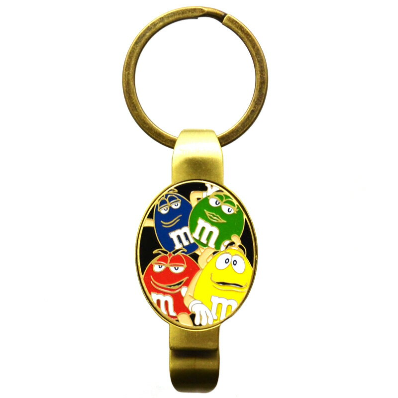 m&m's KEY CHAIN/BOTTLE OPENER(RED,YELLOW,BLUE,GREEN)キーチェーン/キーホルダー (レッド,イエロー,ブルー,グリーン)栓抜き!!