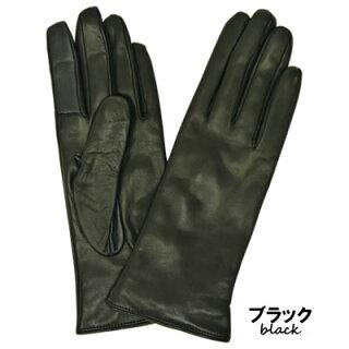 手袋レザー手袋革手袋スマホ対応イタリア製カシミヤライニングシンプルレディースギフトスマートフォン対応レザーグローブ