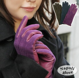 クーポン配布中 ★ 手袋 革手袋 レザー手袋 レディース スエード シンプル イタリア製 カシミヤ100%ライニング ギフト おしゃれ レザーグローブ
