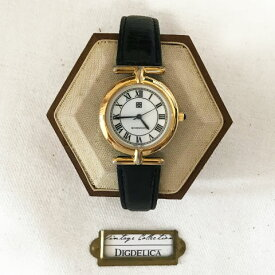 【GIVENCHY】ジバンシー ヴィンテージ腕時計 ジバンシイ v1433 ウォッチ【DIGDELICA】ディデリカ  年代物 UESD中古品
