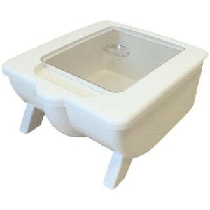 米びつ 10kg おしゃれ スリム 計量 米櫃 米 保存 保管庫 保管 貯蔵庫 貯蔵 ライスボックス ライスストッカー ライスキーパー ストッカー こめびつ 10kg用 10キロ 米ビツ お米入れ ホワイト 防虫