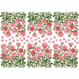 ウォールステッカー両面印刷花木おしゃれ貼ってはがせるwallstickerflowerフラワーツリーステッカーシール全9種かわいい簡単リメイク裏から見てもきれいウォールシール壁シールリメイクシート窓ベランダキッチン