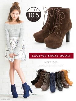 -Book-[10.5 cm thick heel race AP short boots | MR | CSGL | |] Dream vision ◆ 8 / 11 delivery plan