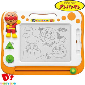 アンパンマン 天才脳らくがき教室 <アガツマ> 何度でも使えるおえかきボード!