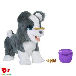 ファーリアル トリックラブ 子犬のリッキー 犬 ぬいぐるみ 電動 ロボット E0384 正規品 ハズブロジャパン 4才から