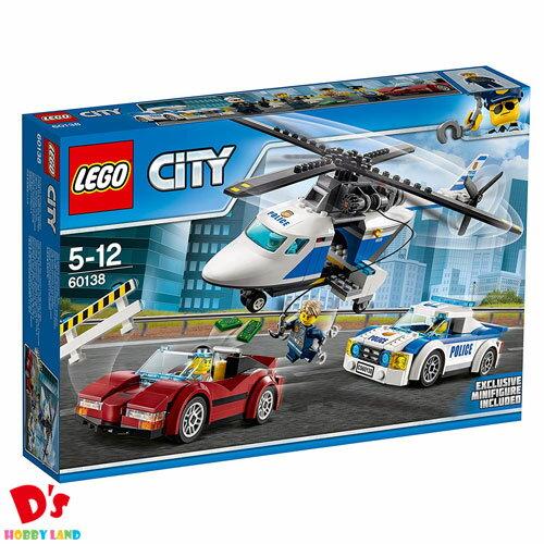 レゴ (LEGO) シティ ポリスヘリコプターとポリスカー 60138 5才から