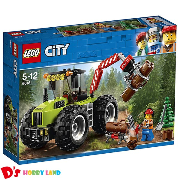 レゴ シティ LEGO CITY 森のパワフルトラクター 60181 5才から