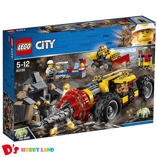 レゴ (LEGO) シティ ガリガリドリルカー 60186 5才から