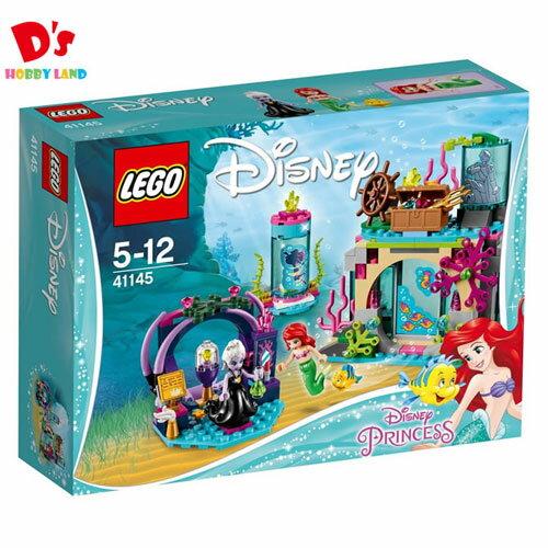 レゴ (LEGO) ディズニー アリエル 海の魔女アースラのおまじない 41145 知育玩具 ブロック 女の子 おもちゃ 人魚 ギフト 誕生日 プレゼント