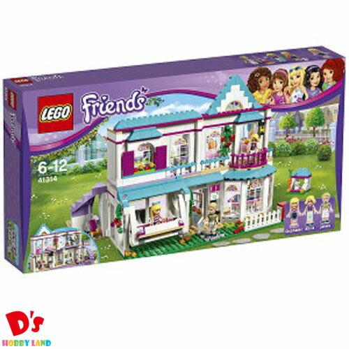 レゴ (LEGO) フレンズ ステファニーのオシャレハウス 41314 LEGO FRIENDS ブロック ままごと 女の子 おもちゃ 家 キッチン ウサギ