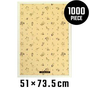 木製パズルフレーム ディズニー専用 1000ピース用 ホワイト (51x73.5cm) テンヨー