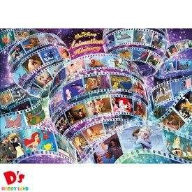108ピース ジグソーパズル ディズニー アニメーション ヒストリー(55作品) 【ホログラムジグソー】 (18.2x25.7cm) テンヨー 6才から