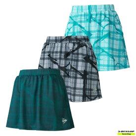 【クリアランスセール】2021年SSモデル テニス【ダンロップ】DUNLOP ウエア スコート DAK-2182W【春夏ウェア】