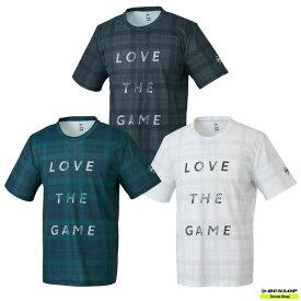 【クリアランスセール】2021年SSモデル テニス【ダンロップ】DUNLOP ウエア Tシャツ DAL-8100【春夏ウェア】