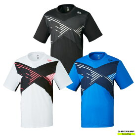 【クリアランスセール】2021年SSモデル テニス【ダンロップ】DUNLOP ウエア ゲームシャツ DAP-1105【春夏ウェア】