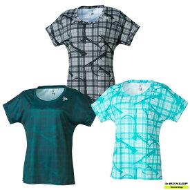 【クリアランスセール】2021年SSモデル テニス【ダンロップ】DUNLOP ウエア ゲームシャツ DAP-1120W【春夏ウェア】