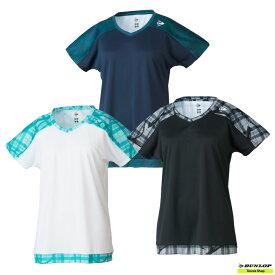 【クリアランスセール】2021年SSモデル テニス【ダンロップ】DUNLOP ウエア ゲームシャツ DAP-1121W【春夏ウェア】