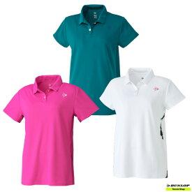 【クリアランスセール】2021年SSモデル テニス【ダンロップ】DUNLOP ウエア ゲームシャツ DAP-1124W【春夏ウェア】