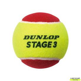 テニス PLAY+STAY ボール【ダンロップ】DUNLOP STAGE 3 RED 1袋(12ヶ入) STG3RDC12DOZ【トレーニンググッズ】