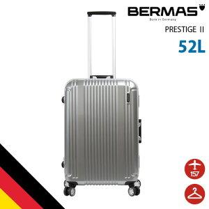 バーマス公式直営 BERMAS バーマス スーツケース キャリーケース 60265 プレステージ ドイツブランド ビジネス 軽量 旅行 52L 高機能 キャリーバッグ フレーム TSAロック 4輪タイプ