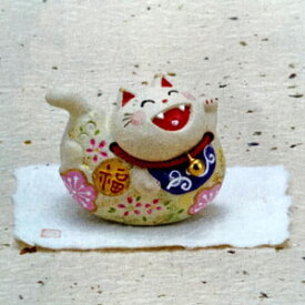 猫 置物【ゆらゆら笑顔(猫)】 送料無料 ネコ ねこ インテリア 雑貨 プレゼント ギフト 陶器 ぬいぐるみ 小物 おもちゃ オブジェ 男性 女性 お歳暮 御歳暮 プチギフト お茶 2020 インテリア 動物 内祝い 早割