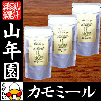 Chamomile tea herb tea 2 g *15 pack *3 bag set Kumamoto product non caffeine no pesticide jar man chamomile tea bag tea pack leaf chamomile tea pregnant woman diet seedling gift present midyear gift Father's Day tea 2017 family celebration mail order