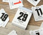 【BRUNNENブルネン】日めくりカレンダー中2019年版【文房具旅行文具デザインおしゃれ2019年日めくり壁掛けカレンダー】【おしゃれイーオフィス】