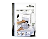 【DURABLE/デュラブル】DURAFRAME壁に貼って使うサインボード2枚組【サインボード/貼って剥がせる/貼って剥がせる/ポスター/フレーム】【デザイン/おしゃれ/デザイン文具ならイーオフィス】