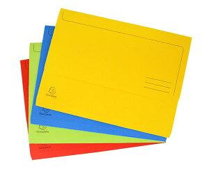 [EXACOMPTA エグザコンタ]ドキュメントウォレットファイル ドキュメントファイル 薄型 フラットファイル 文房具 ステーショナリー デザイン おしゃれ 海外 輸入