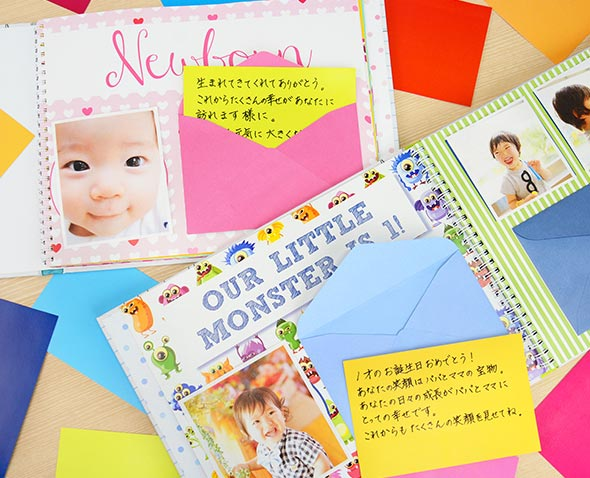 【Your Life in Letters】HAPPY 18 MEMORIES【アルバム/出産祝い/プレゼント/記録/ベビー/子供/キッズ/写真/手紙】【デザイン/おしゃれ/デザイン文具ならイーオフィス】