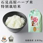 新米令和2年産特別栽培米岩見高原ハーブ米島根県玄米5kg