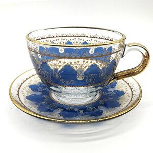 トルコチャイ カップ&ソーサー セット 耐熱ガラス B-12 おしゃれ トルココーヒー グラス クリア ガラス 紅茶 コーヒー 来客用 人気 カップソーサーセット プレゼント ギフト 贈り物 おすすめ