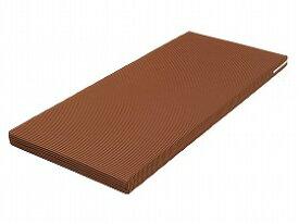 ウェルファン ベッドマットレス ハード&ソフト 001142 ブラウン 83×180cm ショート[介護 ケア サポート 介護用品 通販 床 服 介護服 服装]