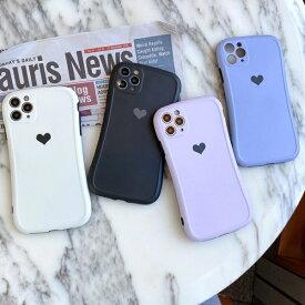 iphone11 ケース カバー 韓国 ポリカボネート シンプルハートくすみカラーケース ハート シンプル iPhoneSE2 iPhone7 iPhone8 iPhoneSE2 iphoneX iphoneXs iphoneXR iphone11Pro iPhoneXsmax iPhone11Promax