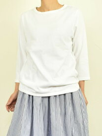 【セール】SO エスオー カットソー Tシャツ 7分袖 無地 ボーダー クルーネック CP