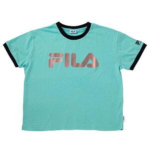 Filaフィラ半袖Tシャツレディースフィットネスランニングジムテニス運動体育かわいいカラー豊富ロゴTfl5175