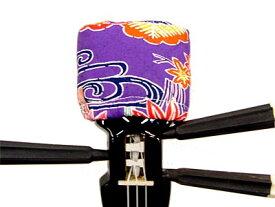 天キャップ 紅型 タイプ1 紫