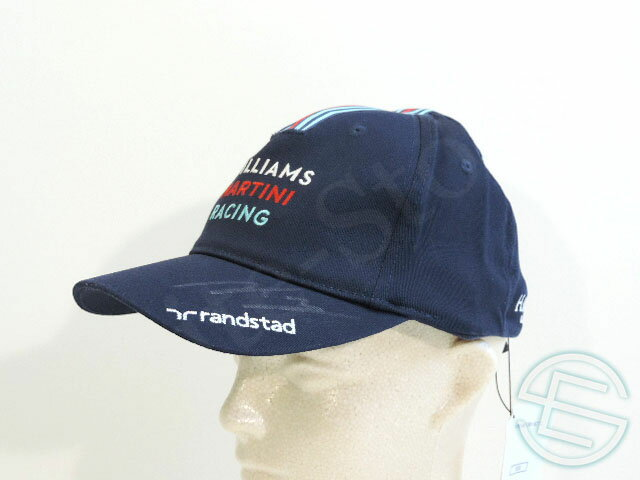 【送料無料】 バルテリ・ボッタス 2015年 マルティニ・ウィリアムズ 直筆サイン入り 公式 キャップ 帽子 new 新品 (海外直輸入 F1 現非売品グッズ)