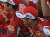 Cap hat new new article (overseas direct import F1 article not for sale goods) for Ferrari 2,010 years for supplies bar code
