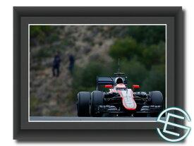 【メール便送料無料】 ジェンソン・バトン 2015年 マクラーレン へレス1 A4サイズ 生写真(海外直輸入 F1 グッズ)