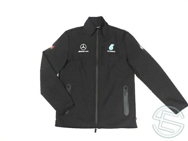 【送料無料】 DTM メルセデス・AMG 2018年 支給品 トミーヒルフィガー製 ソフトシェル ジャケット メンズ L 5/5 (海外直輸入 F1 非売品グッズ)