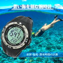 蒼い海を刻む腕時計 [ LAD WEATHER ラドウェザー ] スイス製センサー 【水深・温度・潜水時間の計測と保存】 シュノーケリング ダイビング 腕時計 ...