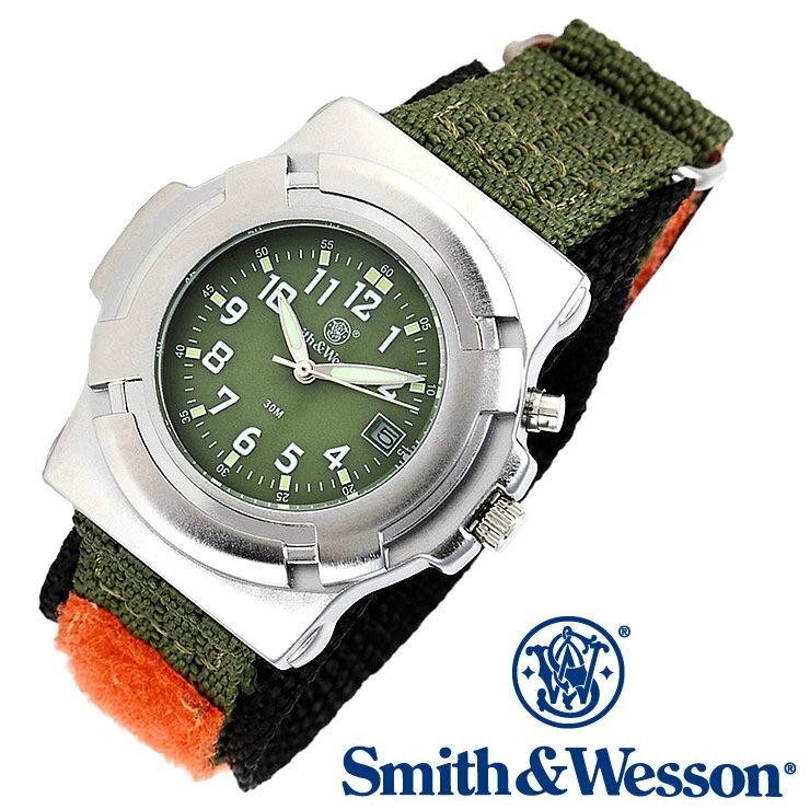 [正規品] スミス&ウェッソン Smith & Wesson ミリタリー腕時計 LAWMAN WATCH SWW-11-OD OLIVE DRAB [あす楽] [ ラッピング無料 送料無料 ]