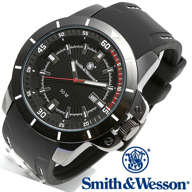 [正規品] スミス&ウェッソン Smith & Wesson ミリタリー腕時計 TROOPER WATCH WHITE/BLACK SWW-397-WH [あす楽] [ ラッピング無料 送料無料 ]