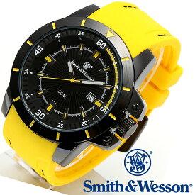 [正規品] スミス&ウェッソン Smith & Wesson ミリタリー腕時計 TROOPER WATCH YELLOW/BLACK SWW-397-YW [あす楽]