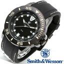 [正規品] スミス&ウェッソン Smith & Wesson ミリタリー腕時計 SCOUT WATCH WHITE/BLACK SWW-582-WH [あす楽]...