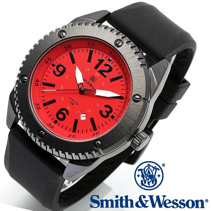 [正規品] スミス&ウェッソン Smith & Wesson ミリタリー腕時計 KNIVES WATCH RED/BLACK SWW-693-RD [あす楽] [ ラッピング無料 送料無料 ]